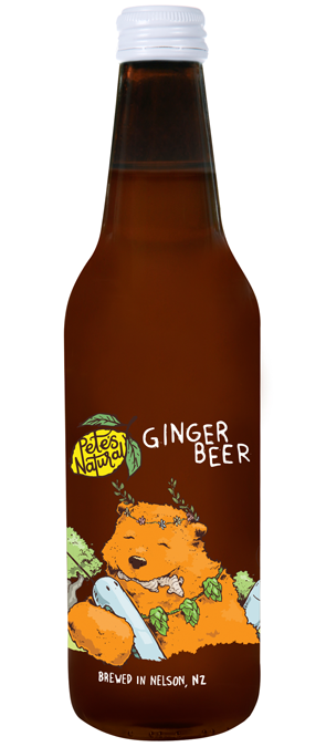 Pete's Natural Ginger Beer fruit healthy Soda