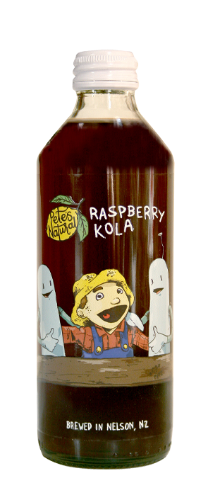 Petes Natural Rasberry Kola